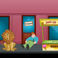Free online flash games - Lion Escape game - Games2Rule