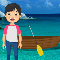 Free online html5 games - Little Boy Island Escape game - Games2rule