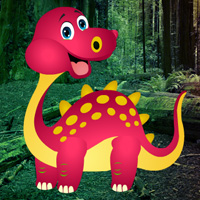 Free online flash games - Little Dino Rescue game - WowEscape