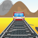 train flash games