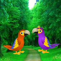 Free online flash games - Macaw Parrot Love Rescue game - WowEscape