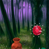 Free online flash games - Magical Gem Forest Escape game - WowEscape