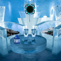 Modern Ice Hotel Escape
