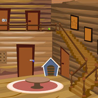 Free online flash games - Modern Wood House Escape game - Games2Rule
