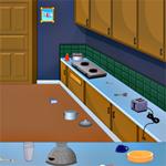 Free online flash games - Moms Kitchen Room Escape game - WowEscape