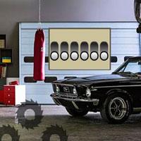 Free online flash games - Murky Car Garage Escape game - WowEscape