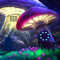Free online flash games - Mushroom Fantasy Village Escape game - WowEscape