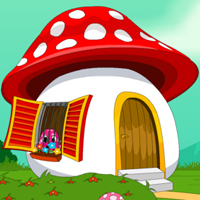 Free online flash games - Mushroom House Escape game - Escape