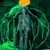 Free online flash games - Mysterious Halloween Escape game - Games2Rule