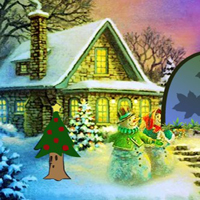 Free online html5 games - Mystical Snowman Escape game