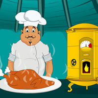 Free online flash games - Need Turkey for Cooking game - WowEscape