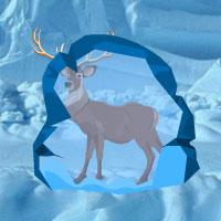 Free online flash games - New Jersey Frozen Deer Rescue game - WowEscape