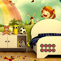 Free online html5 games - New Kids Room Escape game - Games2rule