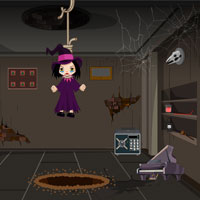 Free online flash games - No Escape from Halloween Room game - WowEscape