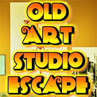 Free online flash games - Old Art Studio Escape game - WowEscape