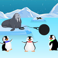 Free online flash games - Penguins Escape game - Games2Rule