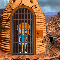 Free online flash games - Perfect Desert Escape game - WowEscape