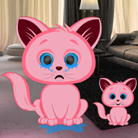 Free online flash games - Pink Kitty House Escape game - WowEscape