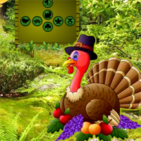 Free online flash games - Pumpkin Turkey Forest Escape game - WowEscape