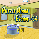 Free online flash games - Puzzle Room Escape 34 game - WowEscape