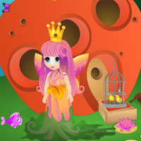 Free online flash games - Queen Fairy Escape game - WowEscape