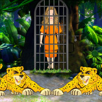 Free online flash games - Rescue Jungle Girl Escape game - WowEscape