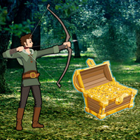 Free online flash games - Robin Hood Treasure Hunt Escape game - WowEscape