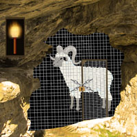 Free online flash games - Rocky Ledge Goat Rescue game - WowEscape