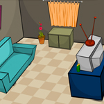 Free online flash games - Room Escape-TV Room game - WowEscape