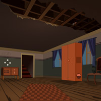 Free online flash games - Ruined House Escape game - Games2Rule