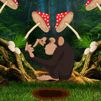 Free online flash games - Ruins Forest Escape game - Games2Rule