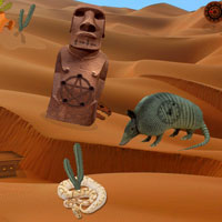 Free online flash games - Sandstorm Desert Escape game - Games2Rule