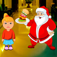Free online flash games - Santa Chef Restaurant Escape
