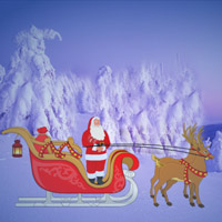 Free online flash games - Santa Christmas Gifts Escape-1 game - Escape