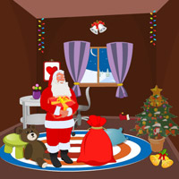 Free online flash games - Santa Christmas Gifts Escape-4 game - WowEscape