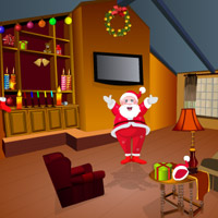 Free online flash games - Santa Room Rat Escape game - WowEscape