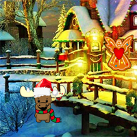 Free online flash games - Santa Secret Gift Escape