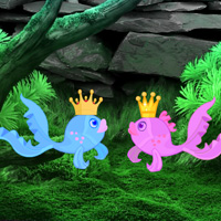 Free online flash games - Save the Princess Fish