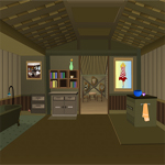 Free online flash games - Shack Escaping game - Games2Rule