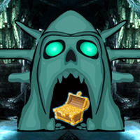Free online flash games - Skull Cave Treasure Hunt game - WowEscape