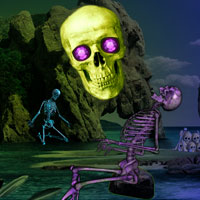 Free online flash games - Skull Island Escape game - WowEscape