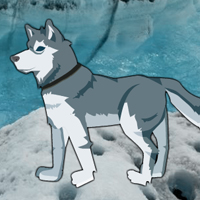 Free online flash games - Sled Dog Rescue game - WowEscape