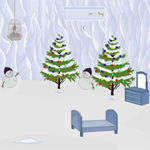 Free online flash games - Snow Cave Christmas Escape game - WowEscape