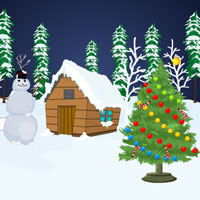 Free online flash games - Snow Forest Christmas Escape game - WowEscape
