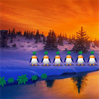 Free online flash games - Snowman at Christmas Dawn Missing game - WowEscape