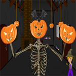 Free online flash games - Halloween Spooky House Escape game - WowEscape