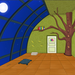 Free online flash games - Spring Night Escape game - WowEscape