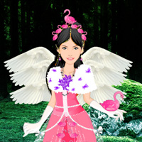 Free online flash games - Swan Fairy Girl Escape game - WowEscape