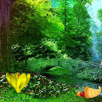 Free online flash games - Thanksgiving Fairytale Forest Escape game - WowEscape