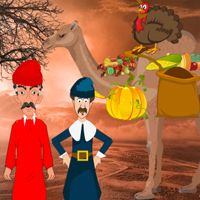 Free online flash games - Thanksgiving Palm Desert Escape game - WowEscape